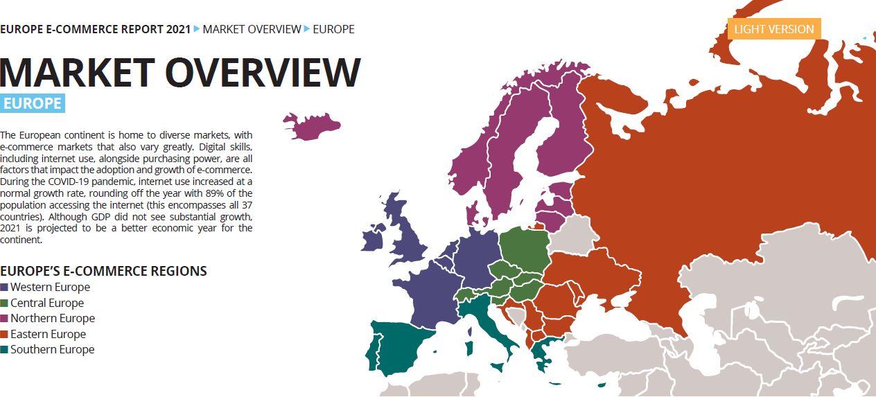 Europe E-Commerce Report 2021 - Marktübersicht